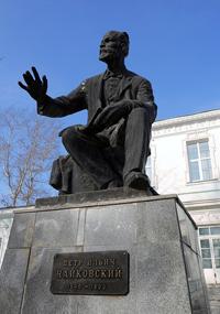 Возле музея Чайковскому П.И.